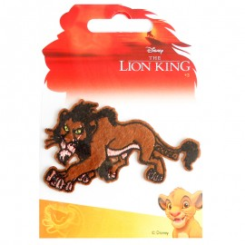 Ecusson Thermocollant Le Roi Lion - Scar