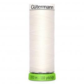 Fil à Coudre Polyester Recyclé 100m - Blanc 800