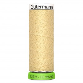 Recycled Polyester Sewing Thread 100m - Light beige 802