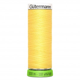 Recycled Polyester Sewing Thread 100m - Straw yellow 325