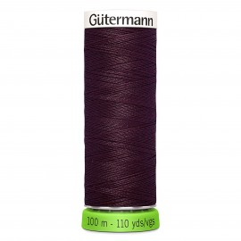 Recycled Polyester Sewing Thread 100m - Burgundy 369