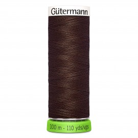 Recycled Polyester Sewing Thread 100m - Purple red 130