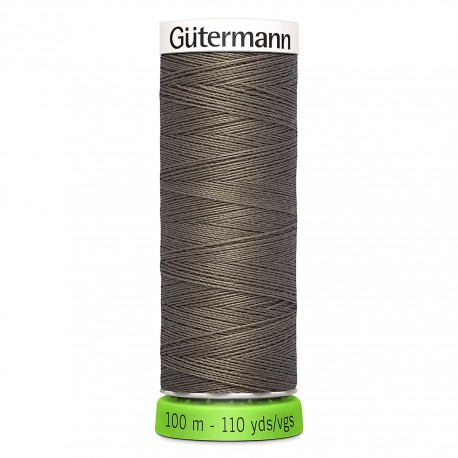 Recycled Polyester Sewing Thread 100m - Brown 694