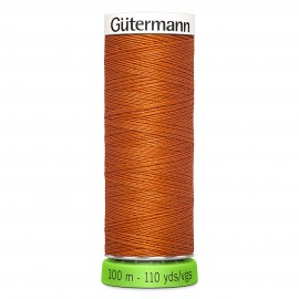 Recycled Polyester Sewing Thread 100m - Copper 448