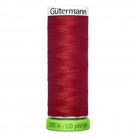 Recycled Polyester Sewing Thread 100m - purple 384
