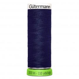 Fil à Coudre Polyester Recyclé 100m - Bleu 315