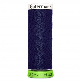 Recycled Polyester Sewing Thread 100m - Blue 315