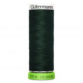 Fil à Coudre Polyester Recyclé 100m - Vert 396