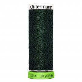 Recycled Polyester Sewing Thread 100m - Green 396