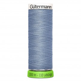 Recycled Polyester Sewing Thread 100m - Pastel blue 75