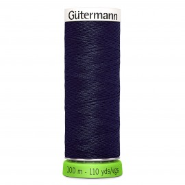 Recycled Polyester Sewing Thread 100m - Dark blue 13