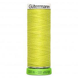 Fil à Coudre Polyester Recyclé 100m - Vert mousse 582