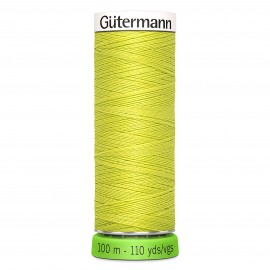 Recycled Polyester Sewing Thread 100m - Moss green 582
