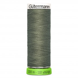 Recycled Polyester Sewing Thread 100m - Lime green 334