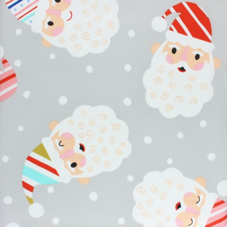 Alexander Henry fabric Christmas time - green Candy Canes Kringle x 10cm
