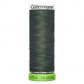 Fil à Coudre Polyester Recyclé 100m - Olive 824