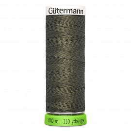 Recycled Polyester Sewing Thread 100m - Military green 269