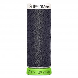 Recycled Polyester Sewing Thread 100m - Khaki green 676