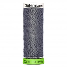 Recycled Polyester Sewing Thread 100m - Charcoal grey 36