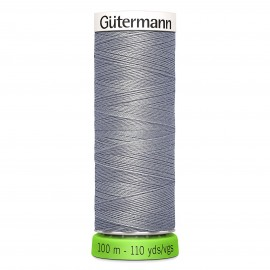 Recycled Polyester Sewing Thread 100m - Dark grey 701