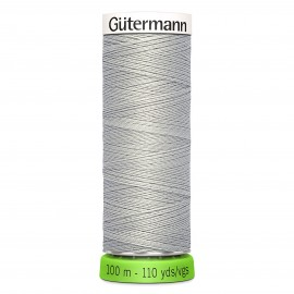 Recycled Polyester Sewing Thread 100m - Mouse grey 40