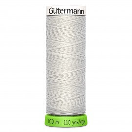 Recycled Polyester Sewing Thread 100m - Light grey 38