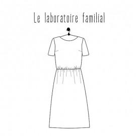 Patron Robe Le laboratoire familial - Anoushka