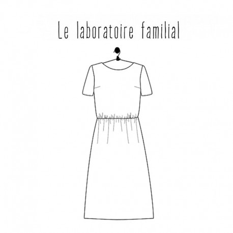 Dress sewing pattern - Le laboratoire familial Anouchka
