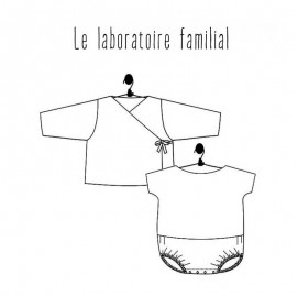 Ensemble Sewing Pattern Le laboratoire familial - Myrtille & Appolin