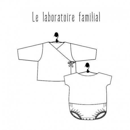 Ensemble Sewing Pattern Le laboratoire familial - Myrtille & Appolin
