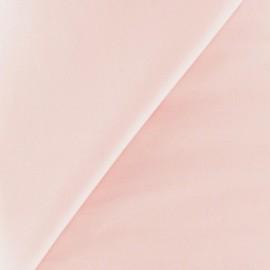 Tissu Popeline rose clair x10 cm
