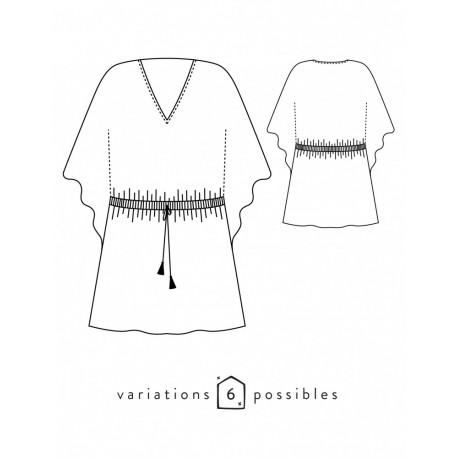 Dress Sewing Pattern - Scämmit Helios