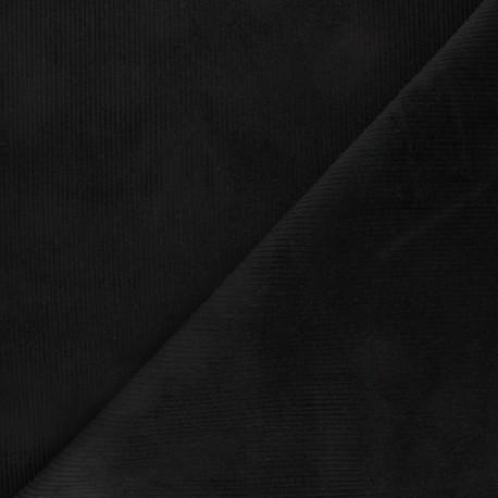 Ribbed velvet fabric Dustin - red x 10cm