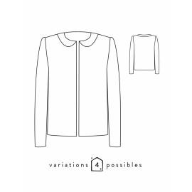 Jacket Sewing Pattern - Scämmit Claudie