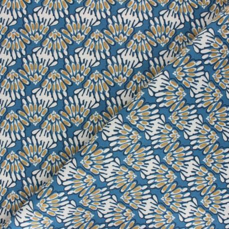 Cotton fabric - Navy blue Cutzy x 10cm