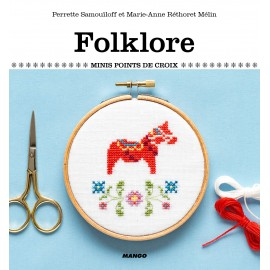 "Book ""Folklore - Minis points de croix"""