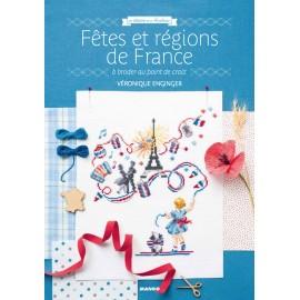 """Book """"Fêtes et région de France à broder au point de croix"""""""