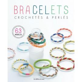 """Book """"Bracelets crochetés & perlés - 63 modèles"""""""