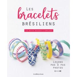 """Livre """"Les bracelets brésiliens - 112 motifs basiques & complexes"""""""