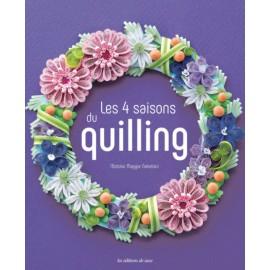 """Book """"Les 4 saisons du quilling"""""""
