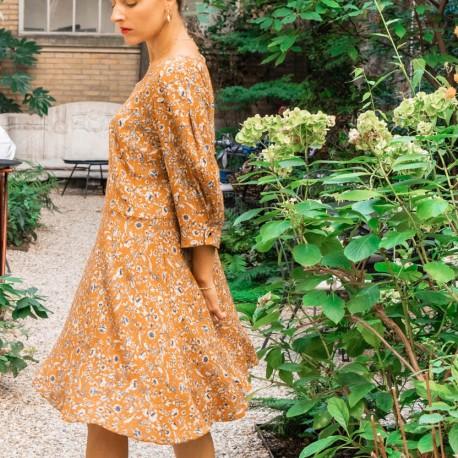 Dress/Blouse Sewing Pattern Maison Fauve - Niki