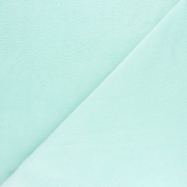 Micro Bamboo Towel fabric - Ice blue x 10cm