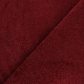 Micro Bamboo Towel fabric - Dark red x 10cm