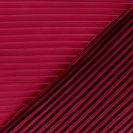 Tissu polyester léger plissé Annilia - doré x 10cm