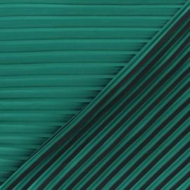 Tissu polyester plissé La Maison Victor Allegra - rouge x 10cm