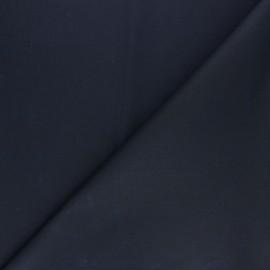 Tissu Coton huilé Hunter - Bleu marinex 10cm