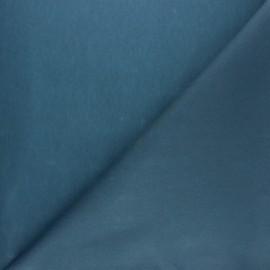 Tissu Coton huilé Hunter - Bleu x 10cm