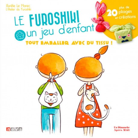 "Livre ""Furoshiki, un jeu d'enfants"""