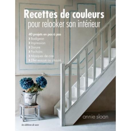"""Book """"Recettes de couleurs pour relooker son intérieur"""""""