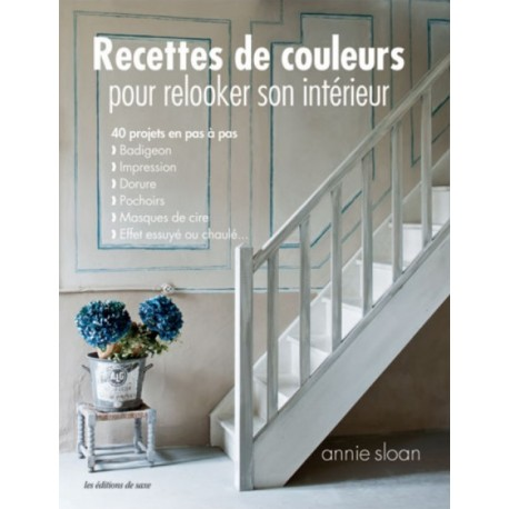 """Livre """"Recettes de couleurs pour relooker son intérieur"""""""